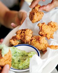 Lobster-and-Corn Fritters Recipe on Food & Wine