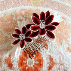 AID FOR JAPAN kanzashi V by elblack