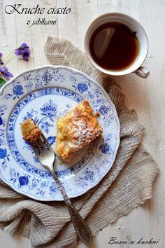 Basia w kuchni: Kruche ciasto z jabłkami.