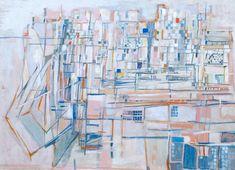 Maria Helena Vieira da Silva 'Paris', 1951 © ADAGP, Paris and DACS, London 2016