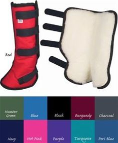 Toklat Fleece Lined Shipping Boots offer excellent protection for your horse when trailering. Features Include: Tough, durable nylon outer shell with reinforced stitching 4 Velcro fasteners Sold in PAIRS Order to fit front and Horse Boots, Pairs, Ship, Fashion, Moda, Fashion Styles, Ships, Fashion Illustrations