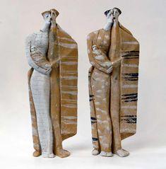 Ceramic figures Theodoros Papagiannis