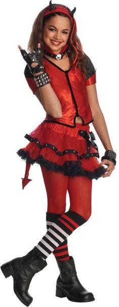 Devilish Girls Costume