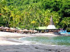 Anse Chastanet beach, St. Lucia