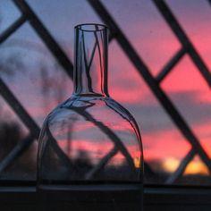 Niebo do wynajęcia. #sunset #nowahuta #clouds #red #bootle #igerskrakow #kraty #light #instaphoto