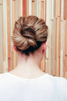 Hair Tutorial: How to Get a (Stella McCartney-Approved) Model-Off-Duty Bun