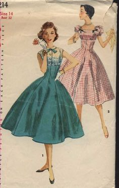 Simplicity 1214: I love an empire princess, add gingham and puff sleeves and...swoon!!