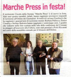 STEFANO BALESTRA: 25° ANNIVERSARIO DI ISCRIZIONE ALL'ALBO DEI GIORNA...