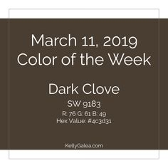 Your Color of the Week and forecast for the week of March 11, 2019. Use this week to become more aware of what you want. What will make you feel most like..