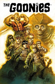 The Goonies 30th Anniversary San Diego Comic-Con Exclusive Print by Eric Powell Dark Horse
