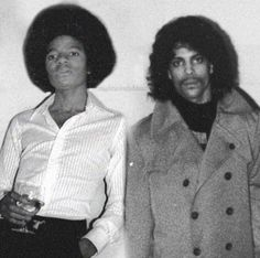 Michael Jackson and Prince Music Icon, Soul Music, Vintage Black Glamour, Black Celebrities, Celebs, Jackson Family, Black History Facts, The Jacksons, Roger Nelson