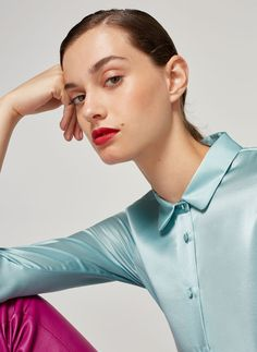 Uterqüe United Kingdom Product Page - Ready to wear - Shirts and blouses - Silk shirt - 88
