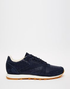 Image 2 of Reebok Indigo Leather Woven Trainers