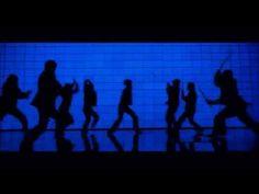 Kill Bill - Blue Silhouette Fight Scene - YouTube