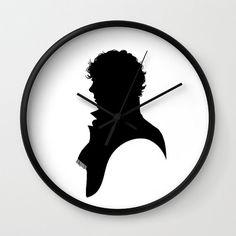 Sherlock BBC Clock Sherlock Clock Sherlock by WaywardDaughterArt