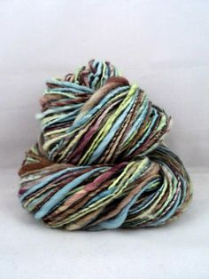 155 Yards Worsted Weight Single Handspun by MommaRobsCreations, $30.40