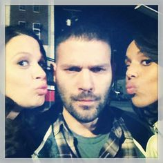 Scandal || #whatthehuck | Quinn, Olivia , and Huck