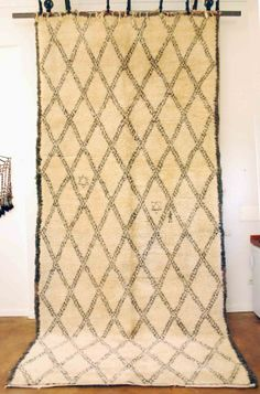 Vintage Moroccan Beni Ouarain Carpet 483 - Products - Red Thread Souk