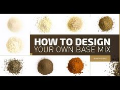 Boilie recipe – How to design your own basemix - YouTube