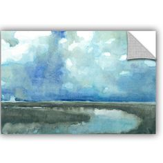 ArtWall Norman Wyatt Jr Meandering Stream' Painting Print Removable Wall Mural Size: