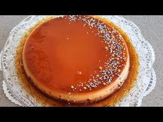 Cremă de zahăr ars cu ciocolata, rețetă super delicioasă/Chocolate leche flan,the best recipe - YouTube Tiramisu, The Best, Caramel, Pancakes, Pudding, Breakfast, Ethnic Recipes, Youtube, Desserts
