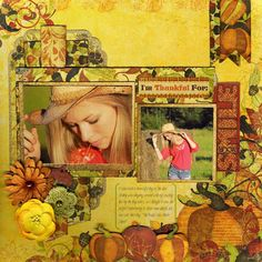 I'm Thankful for Your Smile - Scrapbook.com