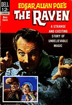 """Comic book based on the movie """"The Raven"""" #309 Comic Book (1963)"""