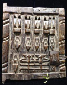 African Mali Dogon Granary Door by WorldofBacara on Etsy $155.00