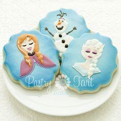 Disney Frozen cookies!