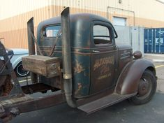 Image may contain: car and outdoor Old Dodge Trucks, Chevy Pickup Trucks, Chevy Pickups, Chevy Trucks, Hot Rod Trucks, Big Rig Trucks, Cool Trucks, Diesel Rat Rod, Diesel Trucks