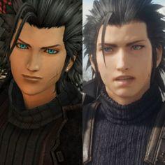 Final Fantasy Crisis Core, Final Fantasy Cloud, Final Fantasy Vii Remake, Fantasy Art, Zack Fair, Final Fantasy Collection, Family Album, Cloud Strife, Abandoned Houses