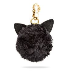 There's more than one way to clip a cat to your bag! Give it a try with the ThinkGeek-exclusive Crescent Meown Bag Charm. It attaches to your favorite bag and is always available for a quick scratch, a purr, or a buff of your phone or tablet screen.