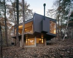 hell of a cabin - off the grid ?