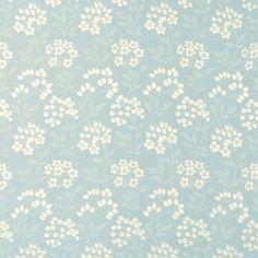 Holkam Duck Egg Fabric #lauraashleystyle