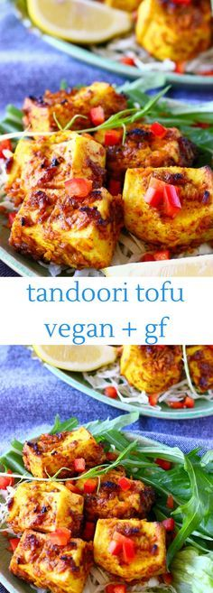 This Vegan Tandoori Tofu is super easy to make, spicy and fragrant and perfect for grilling! Gluten-free and refined sugar free. Great for summer BBQs.