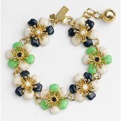 Cute floral bracelet.