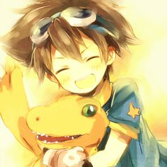 Tai & Agumon - Friendship and Trust.