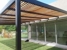 Pergola DIY Videos - Pergola Front Porch Modern - Pergola Bois Balancoire - - Small Pergola With Shade - Pergola Lighting, Modern Pergola, Patio Fireplace