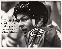 Chicago Blackhawks legend Stan Mikita
