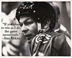 Chicago Blackhawks legend Stan Mikita