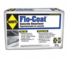 Flo-Coat Concrete Resurfacer