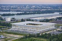 Galeria de fotos da inauguração do Estádio de Bordeaux de Herzog & de Meuron