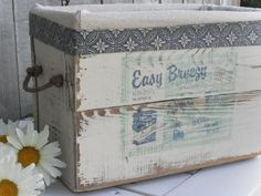 Home Frosting: Easy Breezy Wood Box