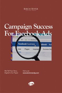 Facebook Ad mistakes should be left in 2019. This is why we've compiled a list of strong advertising strategies to kick off the new year with a bang - advertisement-wise.   #BRDG #BirchRiverDesignGroup Facebook Ads Manager, Facebook Business, For Facebook, Online Business, Power Of Social Media, Social Media Site, Social Media Marketing, Online Campaign, Advertising Strategies