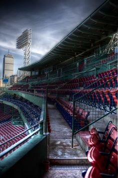 Fenway Park. . . .when my kid is 10 I'm taking him to the most iconic baseball stadiums