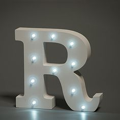 Letters with Lights, £11.00