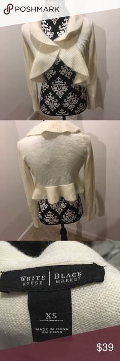 Sweater White collar brand new sweater white h Tops