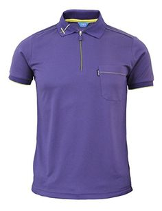 BCPOLO Men's functional Golfwear Polo zipper Sports T-shirt Daily Polo shirt-purple XS BCPOLO http://www.amazon.com/dp/B00RWK624E/ref=cm_sw_r_pi_dp_1px7ub1KJH5DH