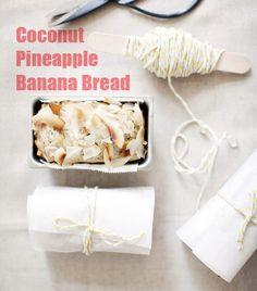 Coconut Pineapple Banana Bread