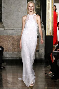 Emilio Pucci SS13 #MFW I wish this picture was better. This dress looks so much more alive in the vid